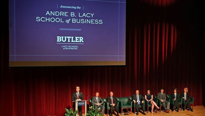 Butler's Andre B. Lacy School of Business will be home to the Old National Bank Center for Closely Held Business.