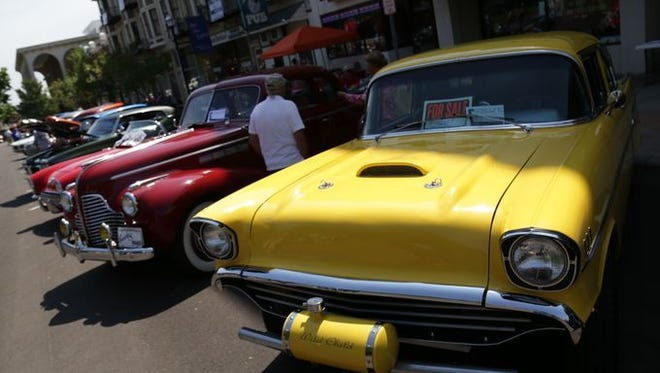 The Heart of the City Cruise-In returns to downtown Mansfield Saturday.