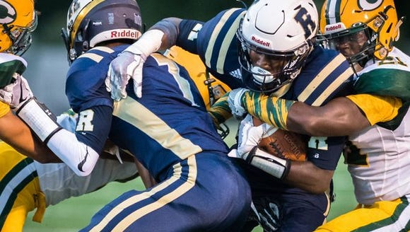The Roberson Rams and the Crest Chargers went toe-to-toe