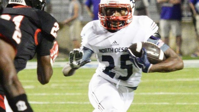 North DeSoto's Aubrey Scott will be key for his team Friday night.
