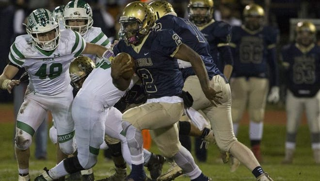 Freehold quarterback was the Coaches' Class A North Offensive Player of the Year