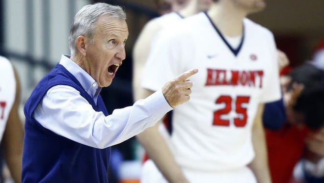 Belmont's Rick Byrd has moved ahead of Rick Pitino on the NCAA career wins coaches list.