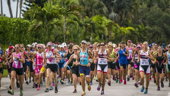 The 32nd annual Fitness Challenge Triathlon will take off at 7:30 Sunday morning from the Naples Beach Hotel and Golf Club.