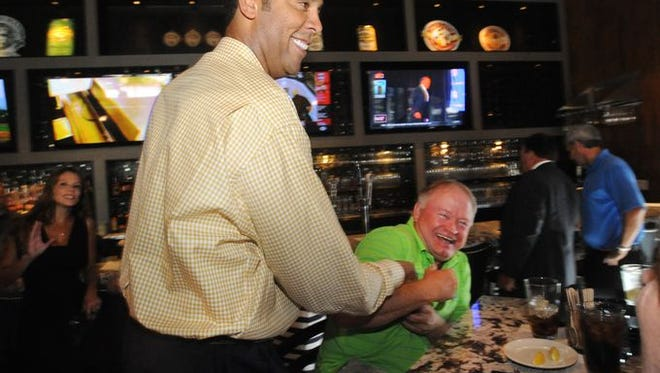 Brad Daugherty at his restaurant in South Asheville earlier this year. The operation will close in coming days, according to a release.