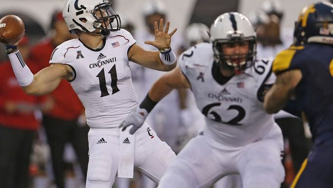 Gunner Kiel is probable to play against Tulane this week.