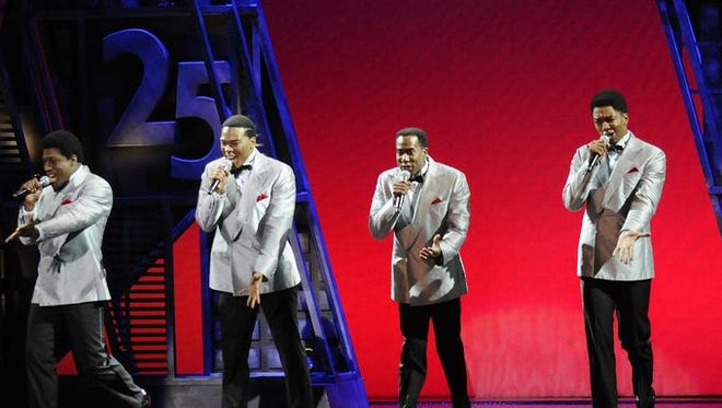 "A scene from ""Motown: The Musical"" at Fisher Theatre."