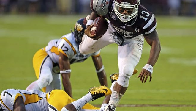 Mississippi State running back Josh Robinson