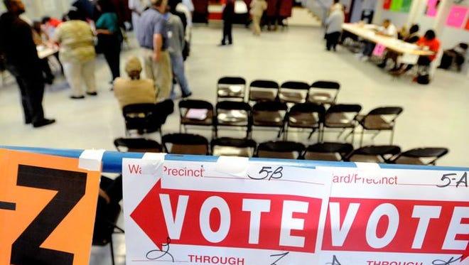 Election Day Shreveport-Bossier