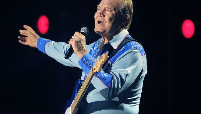 Glen Campbell performs during the CMA Music Festival on June 9, 2012, at LP Field.