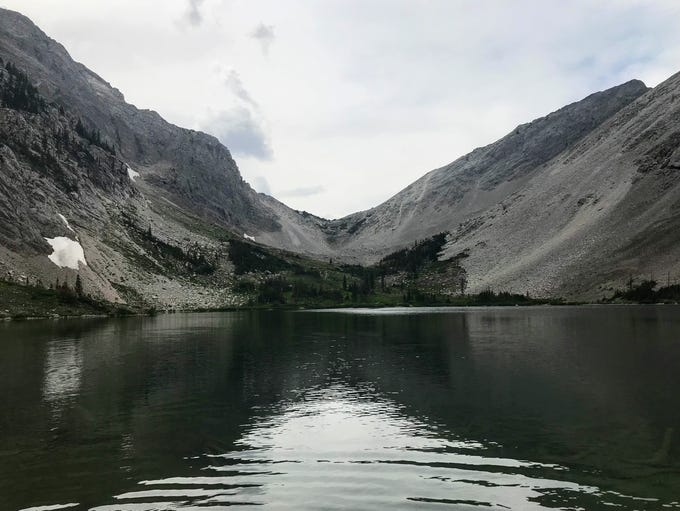 Our Lake is a seven-mile roundtrip hike in the Lewis