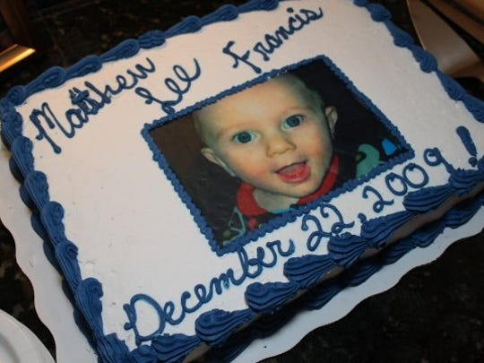 Dec. 22 was the date the Francis family officially adopted Matthew.