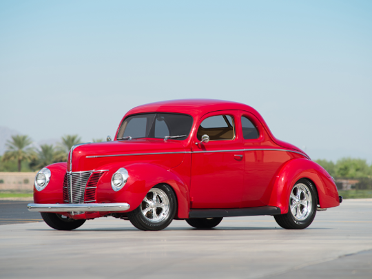 1940 Ford Deluxe Custom Coupe.