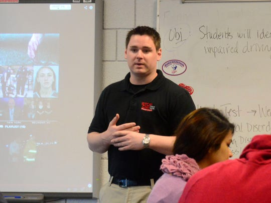 Chris Marion, Broome County Stop-DWI coordinator, talks
