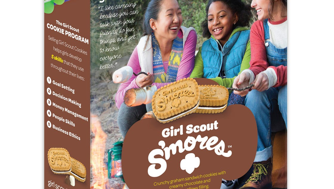 girl scouts celebrate national s mores day with new s