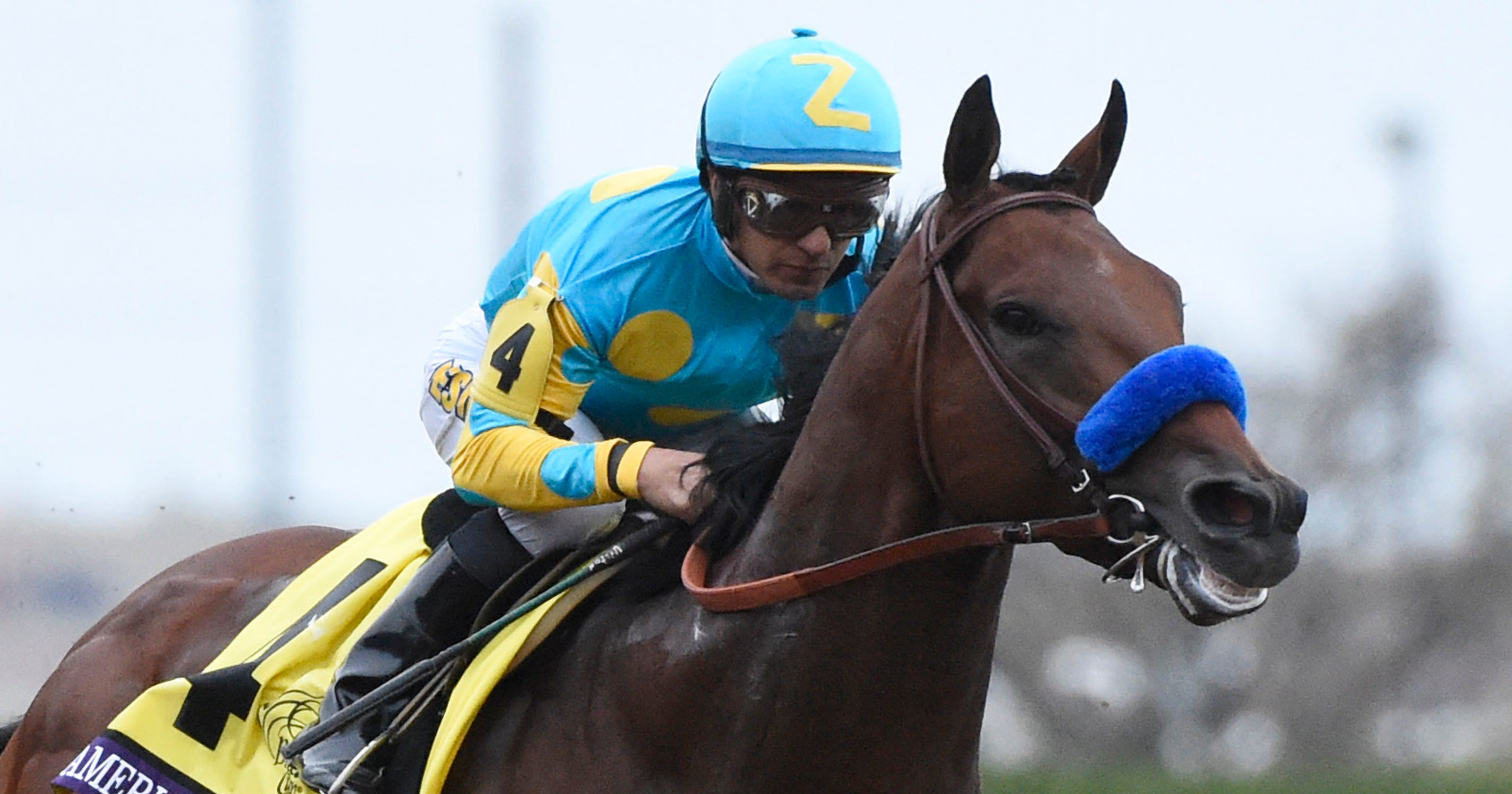 American Pharoah Captures Breeders Cup Classic With Wire