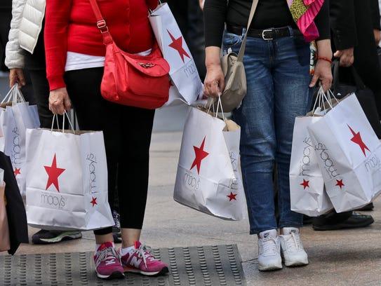 Macy's shoppers.
