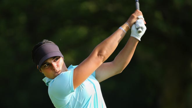 Natalie Sheary plays on the Symmetry tour and hope to make it onto the LPGA tour.