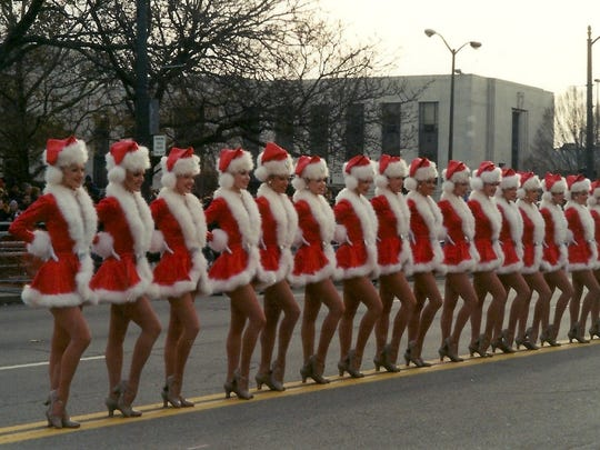 The Rockettes (Janczak is tenth in from the left.)