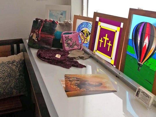 All types of artwork are being displayed and promoted