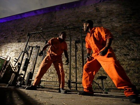 Halloween Prison Philadelphia