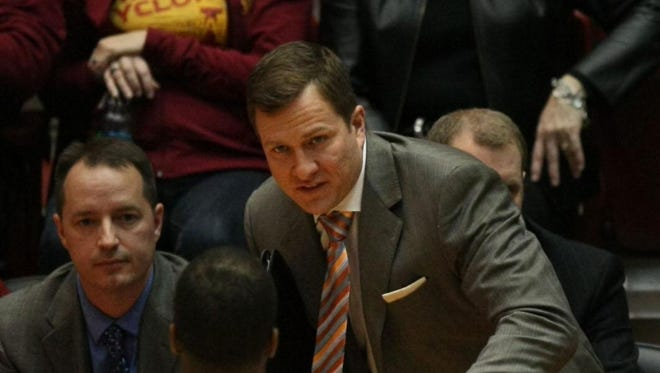 Iowa State's T.J. Otzelberger remained on the coaching staff under Steve Prohm until accepting a job with South Dakota State.