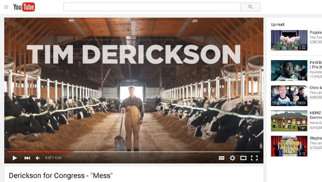 State Rep. Tim Derickson is running for Ohio's 8th Congressional District.