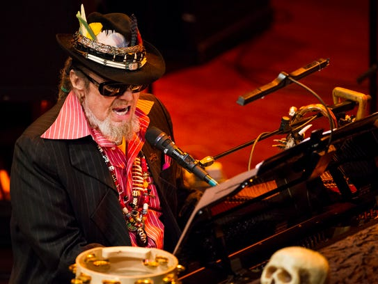 Dr. John performs at the World Cafe Live at the Queen