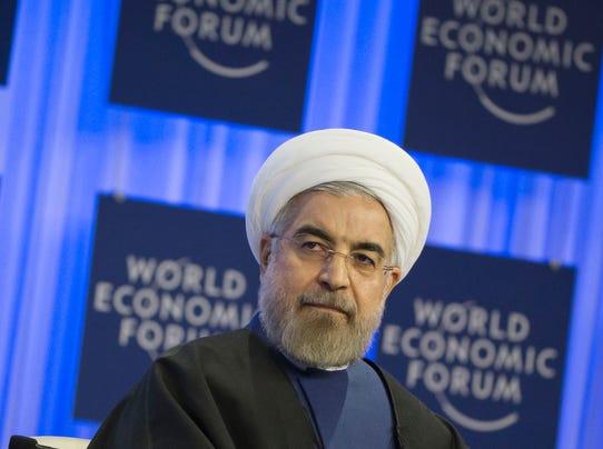 Rouhani Davos Forum