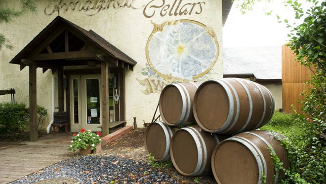 """Amalthea Cellars Winery in Winslow Township caught the attention of Dan Dunn, author of """"American Wino: A Tale of Reds, Whites and one Man's Blues."""""""