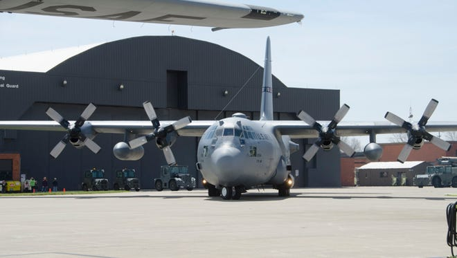 The Ohio Air National Guard's 179th Airlift Wing will be transitioning from its primary mission of flying C-130 transport planes to hosting the Air Force's new Cyber Warfare Wing to combat cyber attacks.