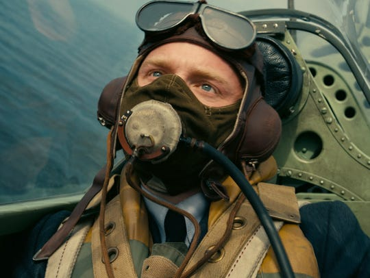 Jack Lowden plays another Spitfire pilot in 'Dunkirk.'