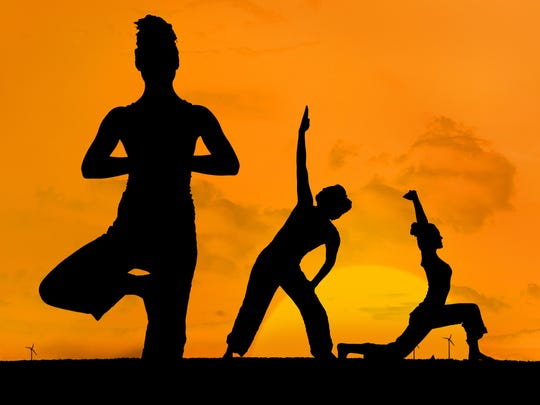 Join Via Miramar for yoga at sunset on Nov. 29.