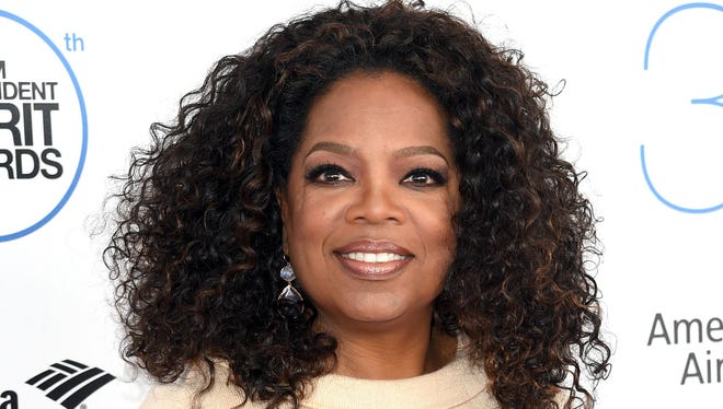 """Oprah Winfrey, the biggest endorser for """"Beyond the Scale,"""" a program partnered with Weight Watchers."""