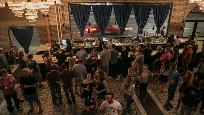 The opening of new downtown music venue The Van Buren, featuring Cold War Kids and Joywave, on Aug. 23, 2017, was a big success.