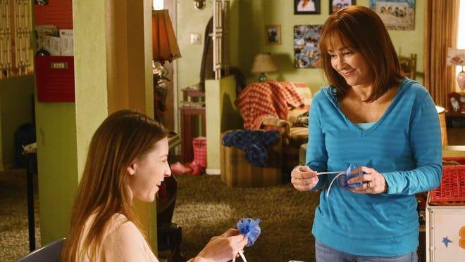 "Patricia Heaton, right, portrayed Frankie Heck across nine seasons of ABC sitcom ""The Middle."""