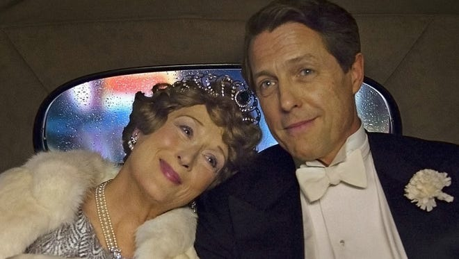 "Meryl Streep and Hugh Grant star in the comedy biopic ""Florence Foster Jenkins,"" which premieres in the U.S. on Aug. 12."