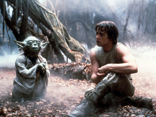 "Mark Hamill starred opposite the Yoda puppet in ""The"