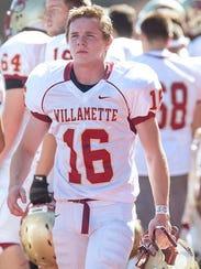 Willamette (Ore.) kicker Conner Mertens told his coach,