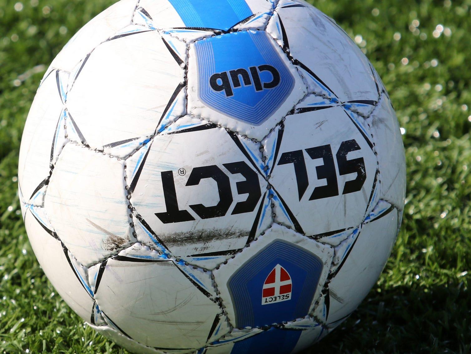 Girls soccer ball.