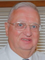 Dick Evans was recognized as a 2015 Senior of the Year.