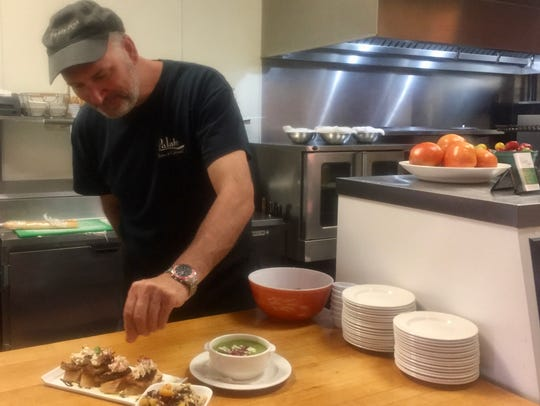 Gary Papp, owner of Palate Bistro and Catering in Rehoboth