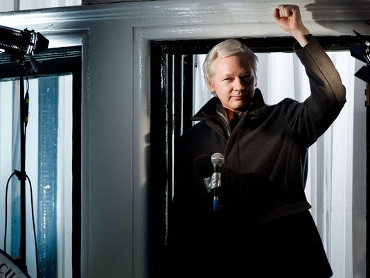 Julian Assange embassy