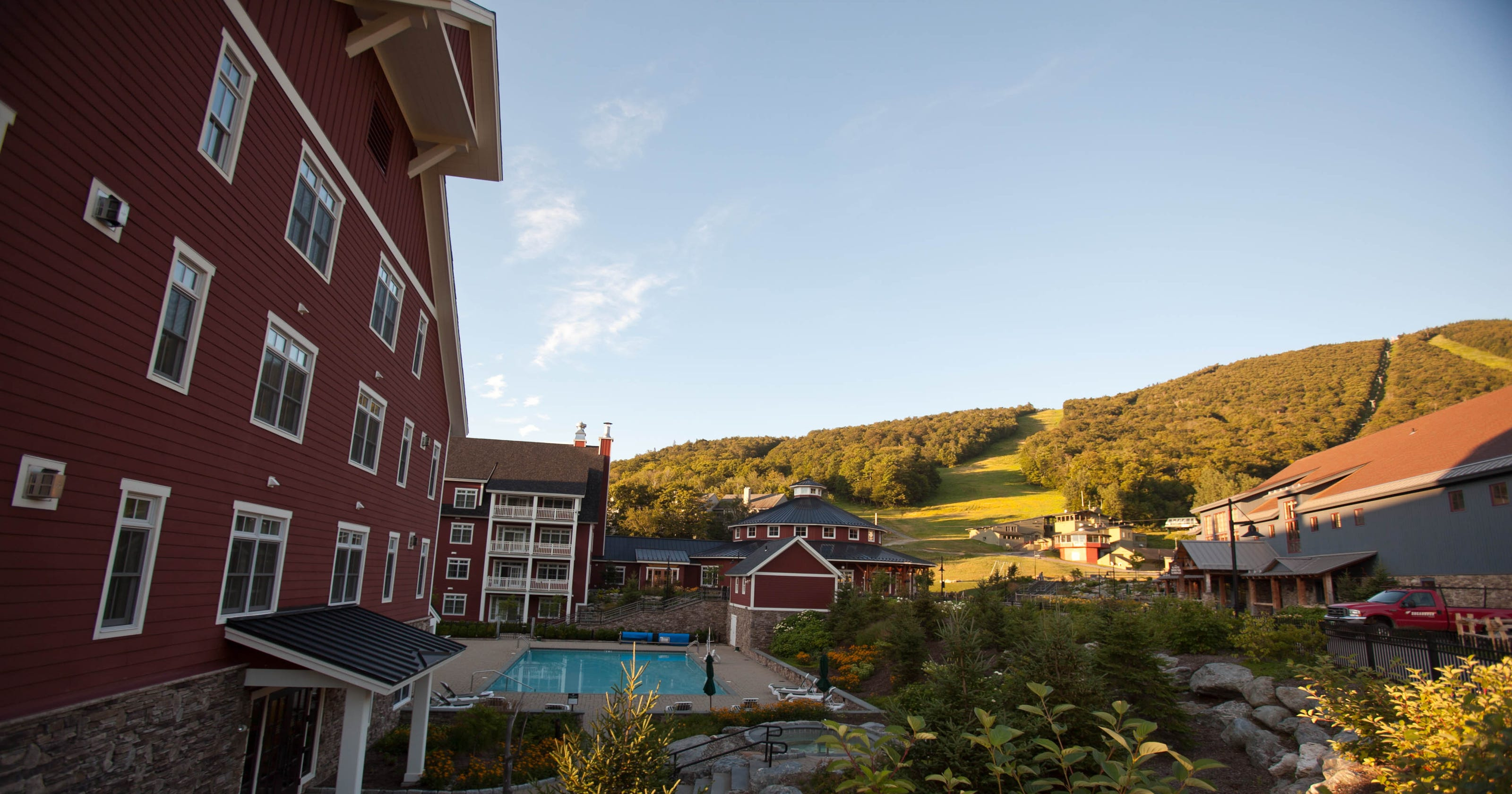 New England's most scenic hotels and resorts