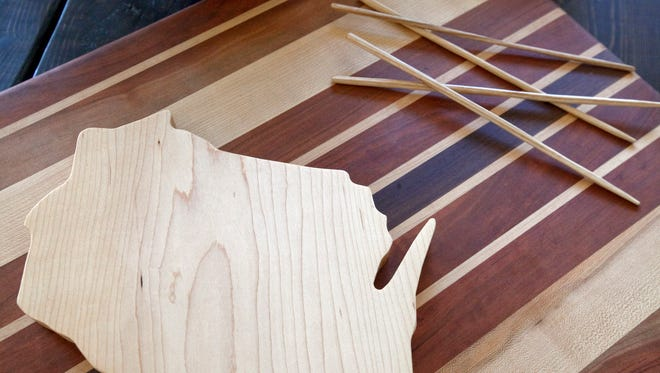 Classes at Our Daily Salt, 3519 W. National Ave., will show participants how to make cutting boards. Classes to be scheduled later will cover  chopsticks.
