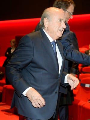Sepp Blatter is seeking a fifth term as FIFA president.