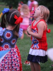 Kids enjoy last year's Fourth of July celebration at
