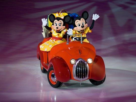 Minnie y Mickey, presentes en Disney On Ice Worlds