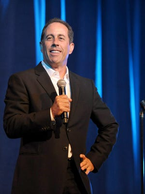 Jerry Seinfeld performs at the Beverly Wilshire Hotel on June 30, 2012.