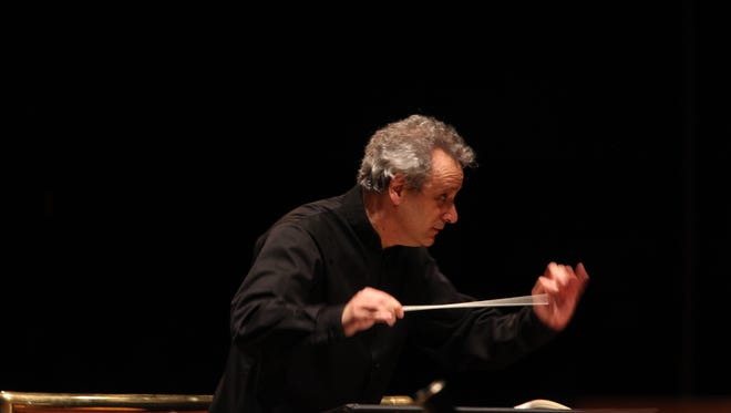 Music director Louis Langrée will lead the Cincinnati Symphony in a concert at Princeton High School on Nov. 23.