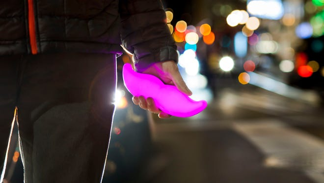 Lyft's signature pink mustache. The company raised $1B on Jan. 4, including $500 million from General Motors.